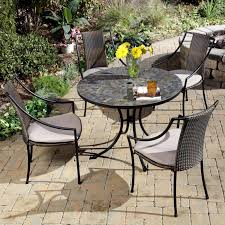 iron wrought patio set outdoor dining table