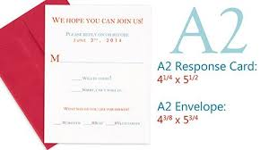 Response Cards Size Pinning This So I Dont Forget What Size Envelopes We Need