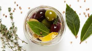 marinated olives jar