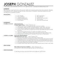 Mechanic Sample Resume Mechanic Resume Sample Resume Samples For