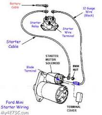 mini starter wiring diagram mini wiring diagrams online small block chevy starter wiring diagram small