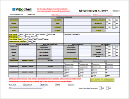 9 Site Survey Templates Download For Free | Sample Templates