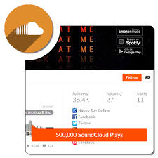 Buy 500,000 SoundCloud Plays - Build My Plays
