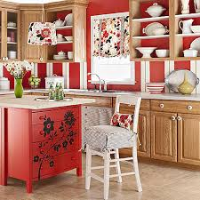 diy kitchen island bar. Interesting Kitchen Different Ideas On Diy Kitchen Island With Repainted Red  Floral Pattern And  Throughout Bar