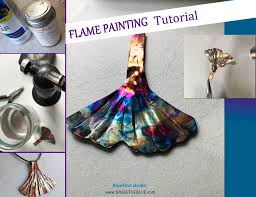 flame painting copper tutorial