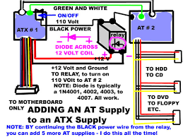 add power from north america to the far east every day it is just more sensible to properly wire them for your own continent adding an at to an atx power supply