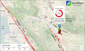 Bay Area Earthquake Swarm Edges Toward The Major Calaveras