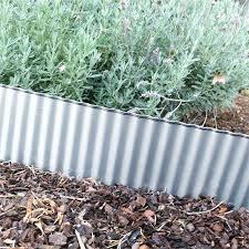 corrugated metal landscape edging page