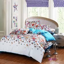 egyptian cotton erfly comforter set bedspread bedding set king size skirt 60s bed set bedding sets duvet cover bedding