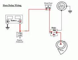 horn relay wiring diagram horn wiring diagrams horn relay wiring