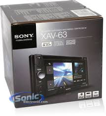 sony xav 63 sony xs gs1720 stereo and speaker combo package product sony xav 63 in dash dvd sony xs gs1720 car speakers