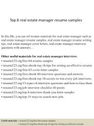 ... Estate Manager Cover Letter Estate Manager Cover Letter ...
