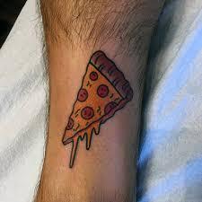 60 Pizza Tetování Vzory Pro Muže Nástěnné Nápady