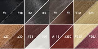 Hair Extension Color Chart Hair Tutorial How To Find The Right Color For Your Extensions