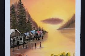 bob ross painting work photo 0