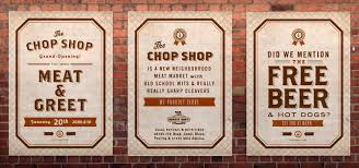 the chop shop fonts in use