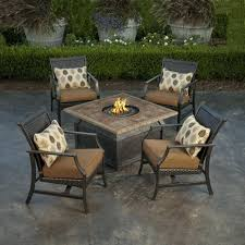 outdoor patio furniture with fire pit patio set with fire pit table patio design ideas patio