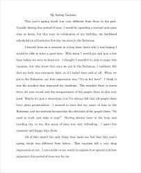 Example Of Example Essay Free 10 Essay Writing Examples Samples In Pdf Doc