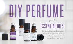 diy perfume with essential oils