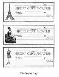 Homemade Gift Vouchers Templates Unique 48 Best Gift Certificate Printables Images On Pinterest Hand Made