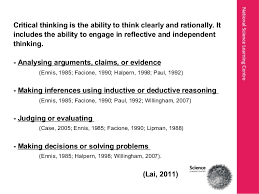 CRITICAL THINKING  HATS    overview on   basic intellectual thinking  standards  clarity  Pinterest