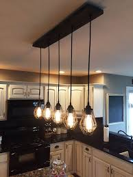 Innovative Rustic Kitchen Island Light Fixtures 25 Best Ideas About Rustic  Kitchen Lighting On Pinterest Mason ... Photo Gallery