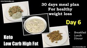 Day 6 Indian Lchf Keto 30 Days Meal Plan For Healthy Weight Loss Low Carb High Fat Keto In Tamil