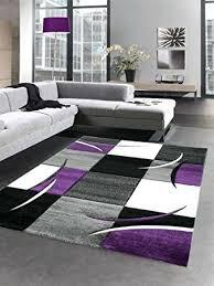 purple rugs for living room new designer rug carpet grey cream black size within
