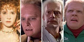 back to the future makeup cast