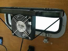 12 volt cabin fan