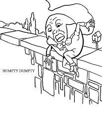 humpty dumpty coloring page coloring pages print coloring pages humpty dumpty coloring pages free
