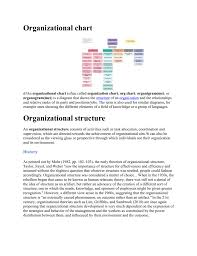 What Is An Organizational Chart Used For Organizational Chart
