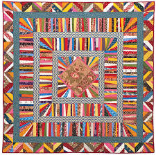 Liberated Medallion Quilt Class | String quilts | Pinterest ... & Liberated Medallion Quilt Class Adamdwight.com