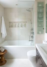 love the half glass door does it keep the water in the tub or do you get over spray