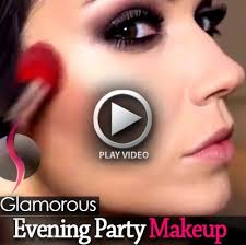 best glamorous evening party makeup video tutorial