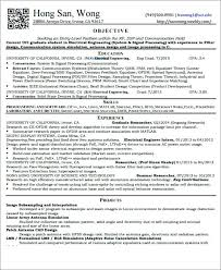 Entry Level Electrical Engineering Resume Electrical Engineer Resume