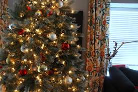How To Decorate A Christmas Tree  HGTVu0027s Decorating U0026 Design Blog Red Silver And White Christmas Tree
