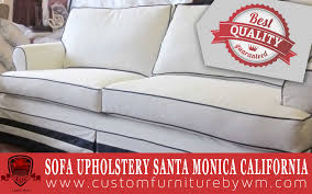 sofa upholstery in santa monica california custom made sofas by wm upholstery