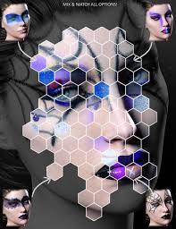 extreme closeup high fashion makeup for genesis 3 female s