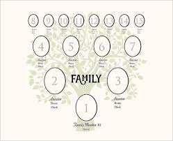 4 Generation Family Tree Template 12 Free Sample Example