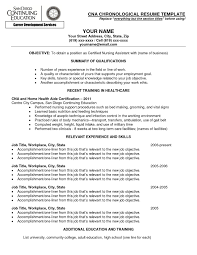 Cna Resume Template Free Download Now Cna Resume Objectives