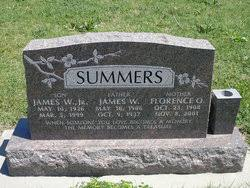 Florence Ophelia Ward Summers (1908-2007) - Find A Grave Memorial