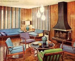 Examples Of Simple Inspiration For The Design 1960s Interior Trends