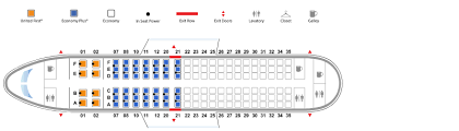 United Plane Seating Chart Airbus 319 319 United Airlines