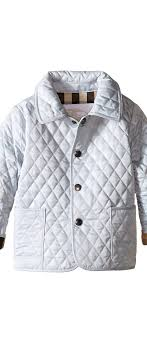 Burberry Kids Colin Quilted Jacket (Infant/Toddler) (Ice Blue ... & Burberry Kids Colin Quilted Jacket (Infant/Toddler) (Ice Blue) Boy's Coat Adamdwight.com