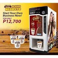 Vending Coffee Machine Philippines Gorgeous Chong Cafe Coffee Vendo Machine Business Package Manila Claseek