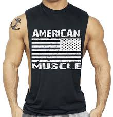 2019 <b>American Flag Design Bodybuilding</b> Fitness Men Tank Tops ...