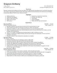 Safety Officer Resume Sample Fire Safety Officer Resume Sample For Curriculum Vitae Vimoso Co