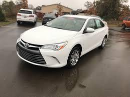 2017 Toyota Camry XLE - Traverse City MI area Toyota dealer ...