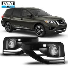 2017 Nissan Pathfinder Fog Light Installation Details About 17 19 Fit Nissan Pathfinder Clear Lens Pair Oe Fog Light Lamp Wiring Switch Kit